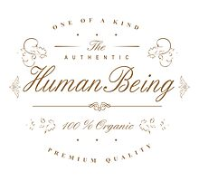 100% Human Being Photographic Print