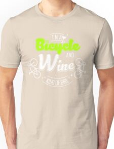 Bicycle and wine Unisex T-Shirt