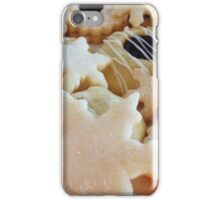 Traditional handmade Christmas biscuits iPhone Case/Skin