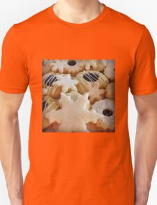Traditional handmade Christmas biscuits Unisex T-Shirt