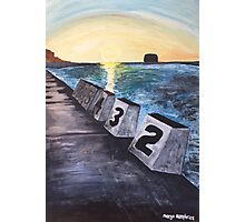 """""""Merewether Baths"""" by Margo Humphries Photographic Print"""