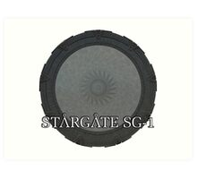 The Stargate - Stargate SG1 Art Print
