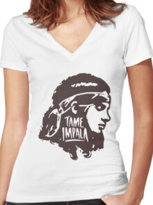 tame impala Women's Fitted V-Neck T-Shirt