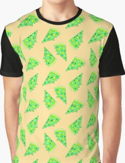 Zombies Like Pizza Too  Graphic T-Shirt