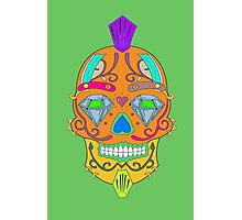"""skull-faced Canadian """"the best"""" Photographic Print"""
