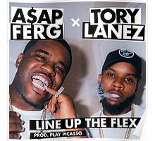 ASAP FERG x TORY LANEZ Poster