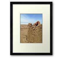 Sandy Castle Framed Print