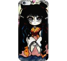 Flower Princess iPhone Case/Skin