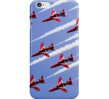 Red Arrows Forming Up iPhone Case/Skin