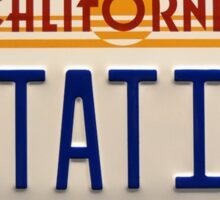 California Out A Time Sticker
