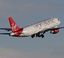 Virgin A320 by TomGreenPhotos