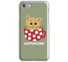 Catpuccino iPhone Case/Skin