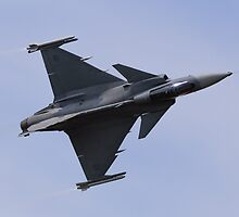 Saab JAS 39 Gripen by TomGreenPhotos