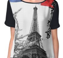 paris beauty Chiffon Top