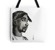 Tupac drawing Tote Bag