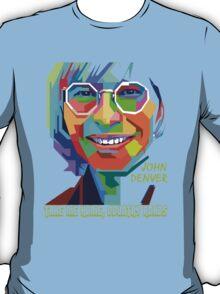 John Denver ~ Pop Art T-Shirt