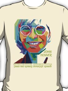 John Denver ~ Pop Art T-Shirt