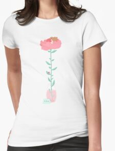 Flower of Spring Womens Fitted T-Shirt