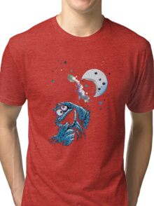 Cookie Monster And The Cookie Moon Tri-blend T-Shirt