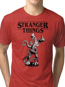 Stranger Things Demogorgon Stylised 3 Tri-blend T-Shirt
