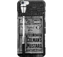 Old Streer Lamp iPhone Case/Skin