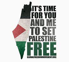 Set Palestine Free Unisex T-Shirt