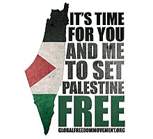 Set Palestine Free Photographic Print