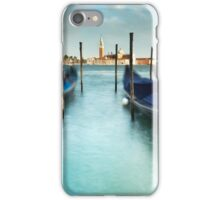 Gondolas in the Swell iPhone Case/Skin