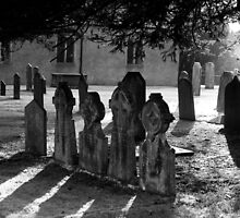 Graveyard by TomGreenPhotos