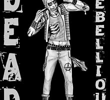 Zombie Punk - DEAD REBELLIOUS by mark-chaney