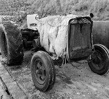 Old Tractor by TomGreenPhotos