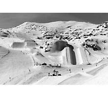 Les Deux Alpes Snow Park Photographic Print