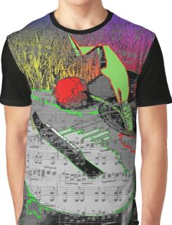 Guitar Music Graphic T-Shirt