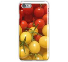 Red and Gold Cherry Tomatoes iPhone Case/Skin