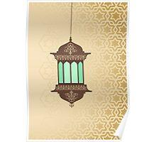 Arabic Lamp Poster
