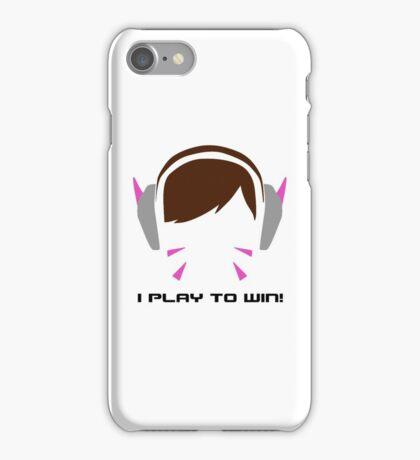 I Play To Win - DVA iPhone Case/Skin