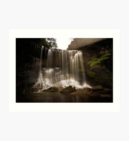 Mokoroa Falls - Waitakere Ranges - NZ Art Print