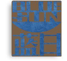 Firefly Jayne blue sun grunge Canvas Print