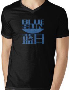 Firefly Jayne Cobb blue sun grunge Mens V-Neck T-Shirt