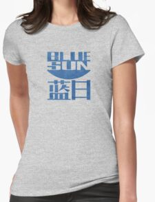 Firefly Jayne blue sun grunge Womens Fitted T-Shirt