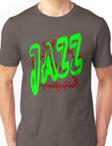 Jazz in Green Unisex T-Shirt