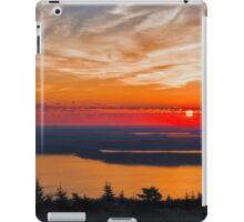 Overlooking Frenchman Bay iPad Case/Skin