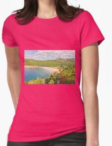 Sand Beach Womens Fitted T-Shirt