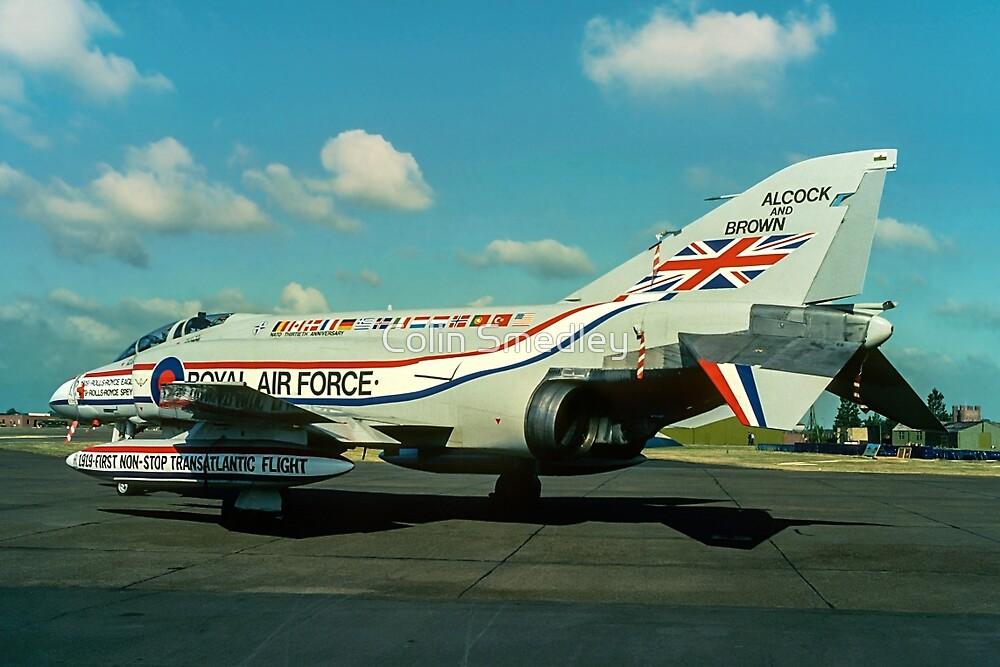 """""""Alcock & Brown"""" F-4M Phantom FGR.2 XV486 by Colin Smedley"""