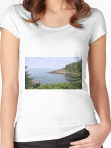 Rocky Inlet Women's Fitted Scoop T-Shirt