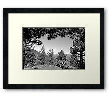Sheep Mountain Wilderness Framed Print
