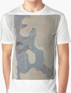 Australian design - Abstract Gum Tree Bark 1 Graphic T-Shirt