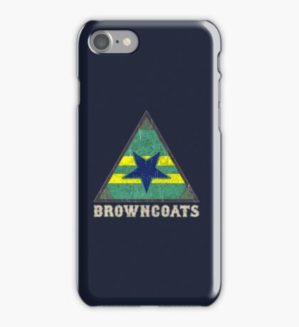 Firefly Browncoats crest grunge iPhone Case/Skin