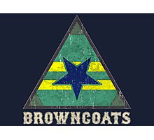 Firefly Browncoats crest grunge Photographic Print