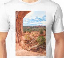 Through an Arch at Arches Unisex T-Shirt
